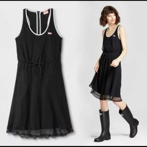 HUNTER MESH A LINE DRESS NEW WITHOUT TAGS SMALL